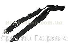 Ремiнь для Зброї FMA двохточковий QD чорний
