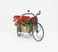 Подставка для цветов Велосипед малый 1 Кантри., фото 1