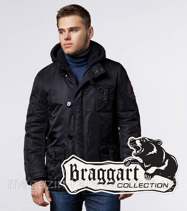 Куртка мужская со съемным капюшоном Braggart 17197 чёрный