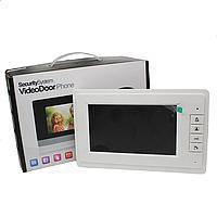 Домофон WJ724RC9 (Memory Card) [4] видеодомофон с картой памяти