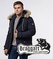 Парка мужская зимняя Braggart 38950 темно-синий, фото 1