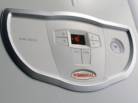 Газовый котел IMMERGAS Mini Nike  24 3 E (2-х контурный) Дым, фото 2
