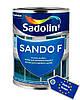 Краска для фасада и цоколя, SANDO F, белый BW, 10 л