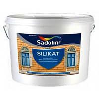 Однокомпонентная силикатная краска SILIKATSadolin, белый, 10л