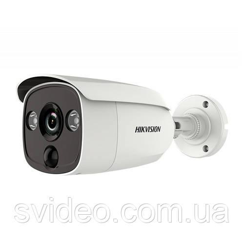 Turbo HD 2Мп видеокамера DS-2CE12D8T-PIRL   с PIR датчиком, 3.6 мм, угол обзора 82°, Ultra-low light, WDR