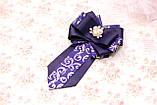 Нарядный комплект в школу из лент (банты и галстук), фото 4
