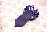 Нарядный комплект в школу из лент (банты и галстук), фото 5