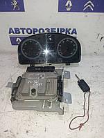 Блок управления двигателем комплект Volkswagen Caddy 04-09 Фольксваген Кадди Кадді
