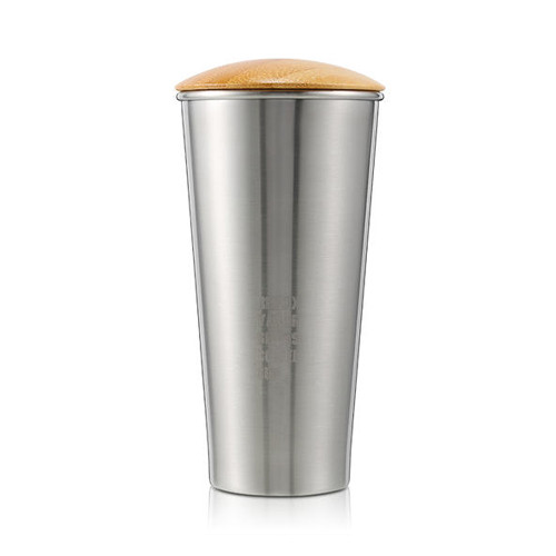 Термокружка Remax RT-CUP40 Yakur Coffee Cup 400 мл - стальной