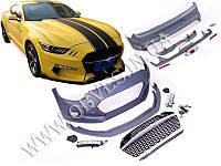 Обвес Ford Mustang VI стиль GAS Rocket (под одинарные насадки с обеих сторон)