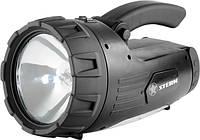 Ліхтарик пошуковий, багатофункціональний, акумуляторний, гал/25w+24led+3led// STERN