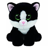 Мягкая игрушка черно-белый котенок Ава 15 см. Оригинал TY 42185