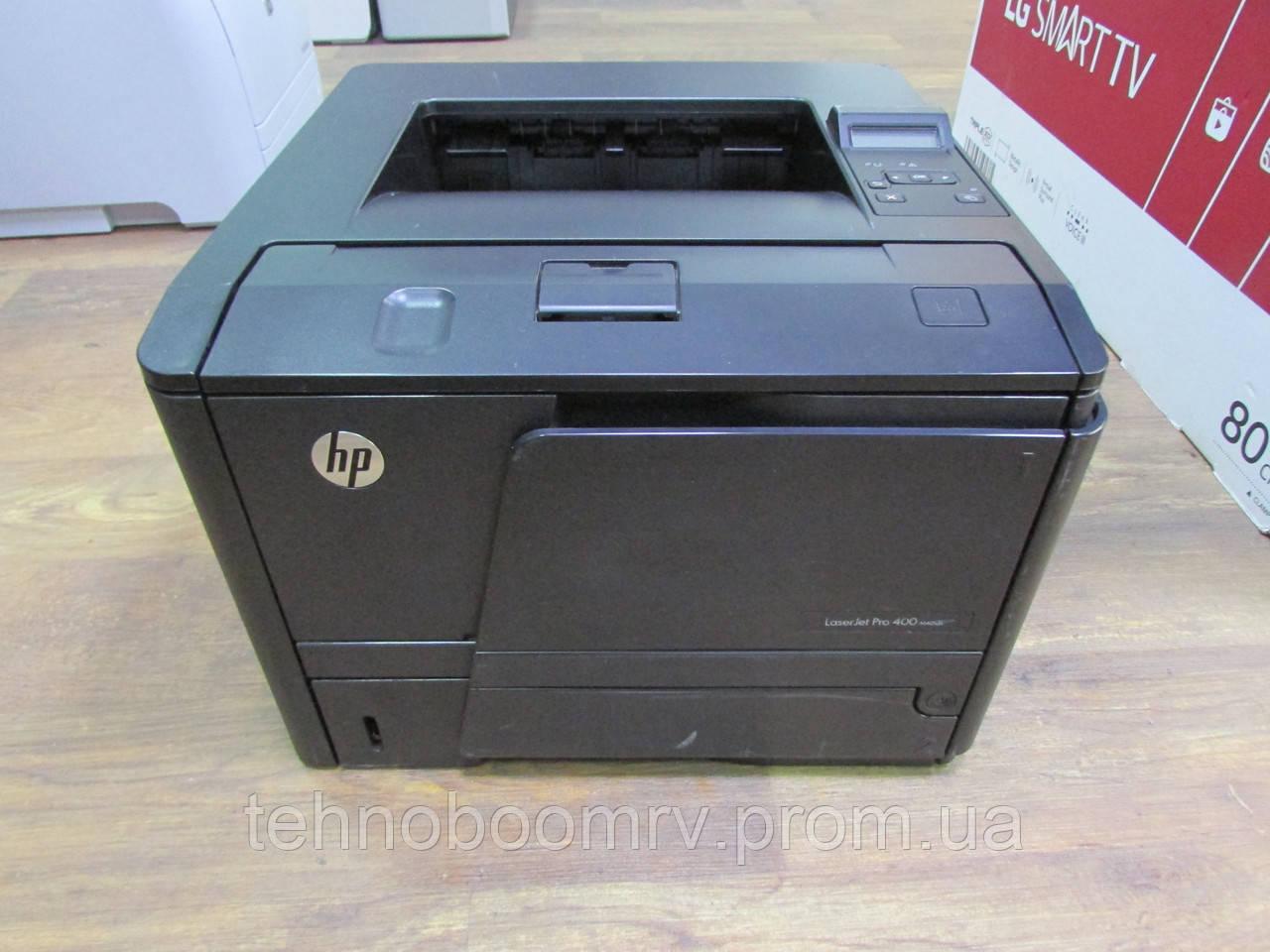 Лазерный принтер HP LaserJet PRO 400 ч/б 33стр/мин - дуплекс/сетевой