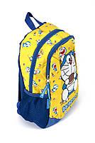 Рюкзак шкільний Doraeman big 1820 жовтий Туреччина, фото 2