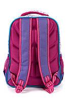 Рюкзак школьный Fashion 1503 фиолетовый Турция, фото 3