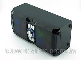 NNS NS-1503bt 10W, колонка-чемодан с караоке и микрофоном, черная, фото 2