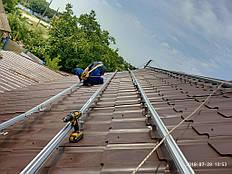 Сетевая солнечная электростанция 10 кВт, малая Белозерка 10
