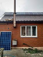 Сетевая солнечная электростанция 10 кВт, малая Белозерка 12