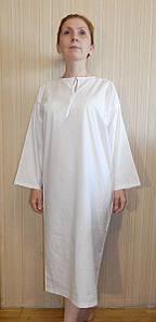 """Рубашка для крещения взрослых. Модель """"Ruth"""" (""""Руфь"""")"""