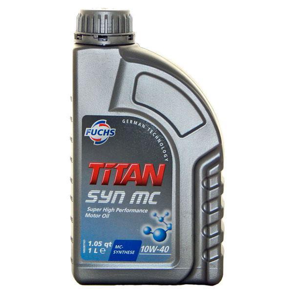 Масло моторное Fuchs 10W-40 Titan SYN MC 1 л (601004346)