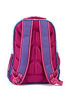 Рюкзак школьный Fashion 1504 фиолетовый Турция, фото 3