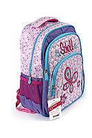 Рюкзак шкільний Fashion 1504 фіолетовий Туреччина, фото 2