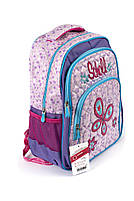 Рюкзак школьный Fashion 1504 фиолетовый Турция, фото 2
