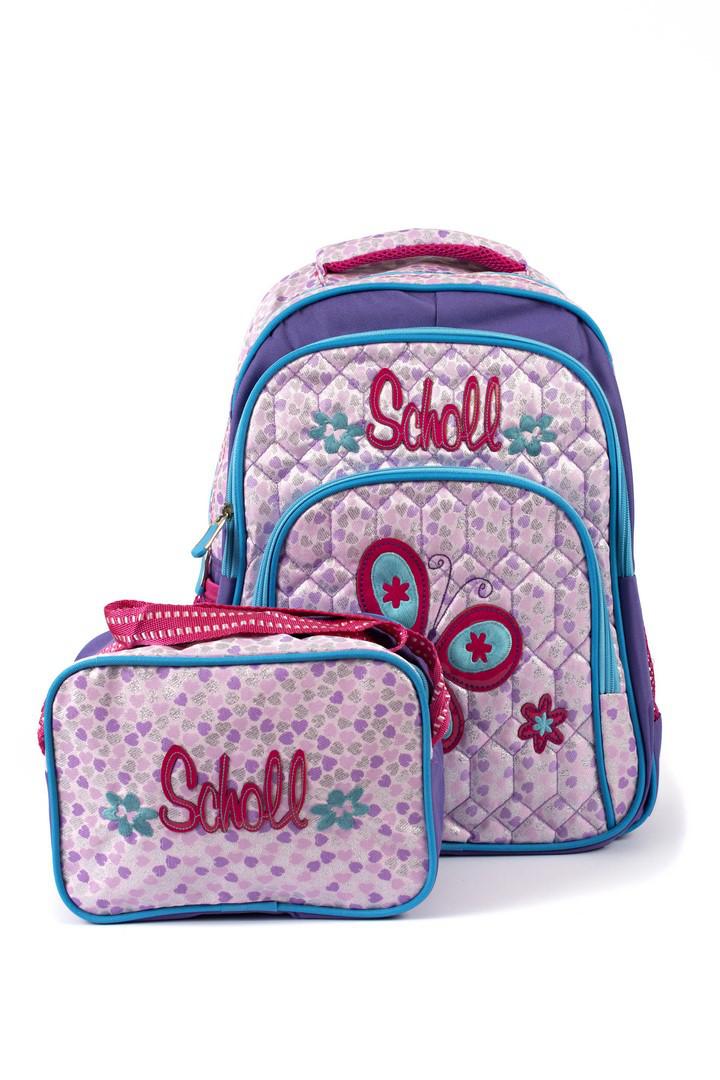 Рюкзак школьный Fashion 1504 фиолетовый Турция