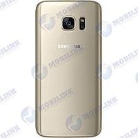Крышка задняя Samsung S7 G930 Золото Gold, GH82-11504C оригинал!