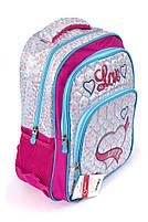Рюкзак шкільний Fashion 1505 фіолетовий Туреччина, фото 2