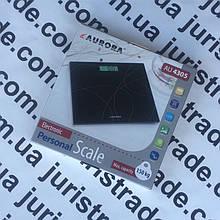 Весы напольные 150 кг., электронные Aurora 4305