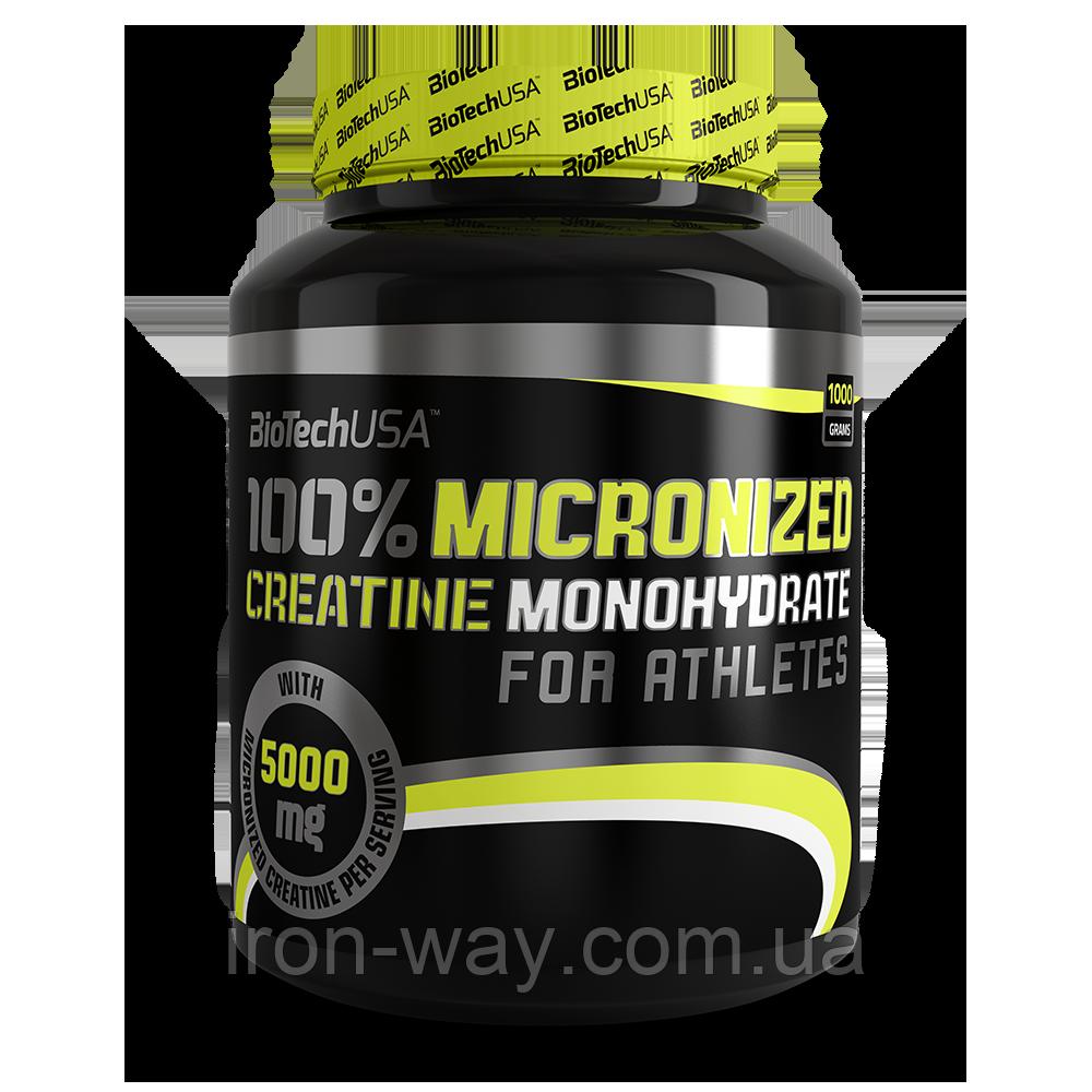 BioTech USA 100% Creatine Monohydrate 1000 g