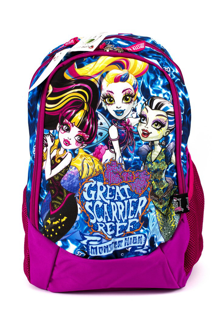 Рюкзак школьный Monster High 1862 розовый Турция