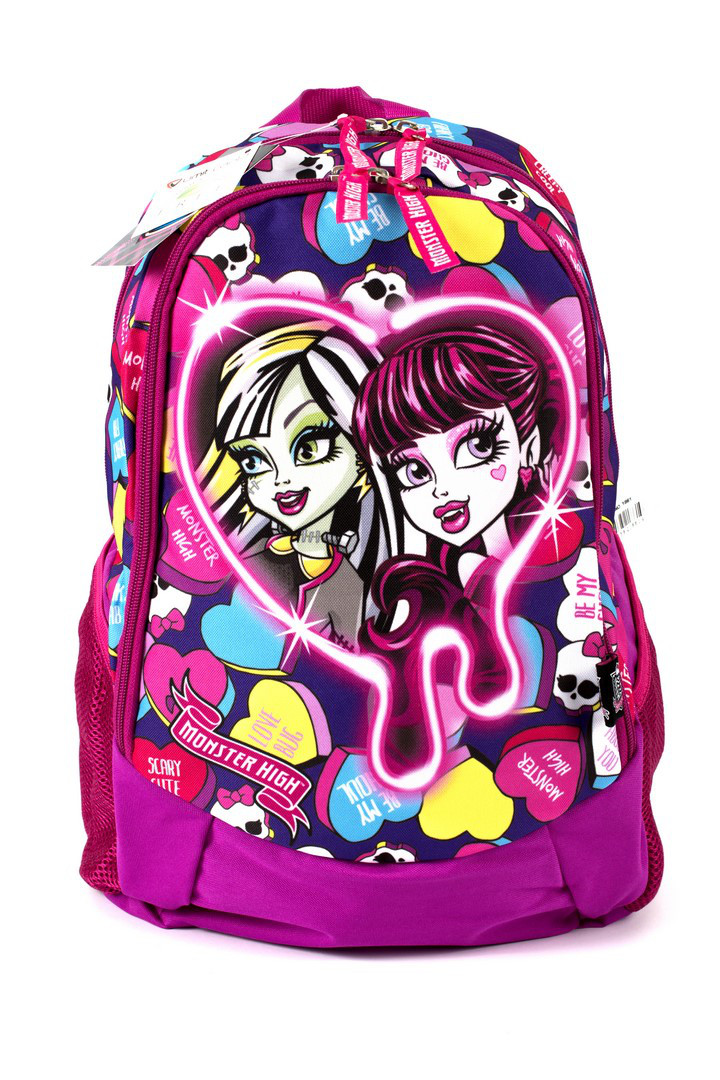 Рюкзак шкільний Monster High 1861 рожевий Туреччина