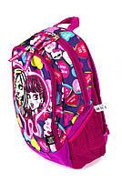 Рюкзак шкільний Monster High 1861 рожевий Туреччина, фото 2