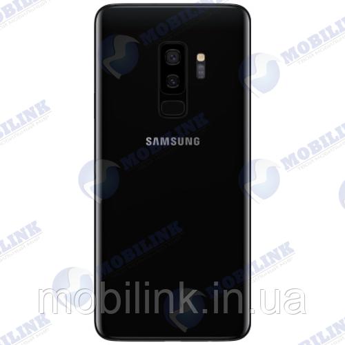 Крышка задняя Samsung SM-G965 Galaxy S9 Plus, Чёрная Black, GH82-15724A, оригинал!