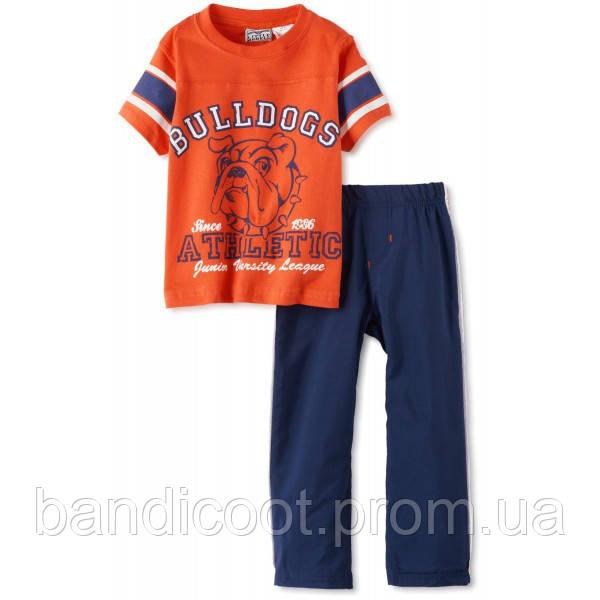Комплект для мальчика, футболка, штаны от ТМ Little Rebels, размер 4Т