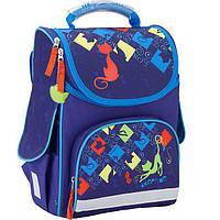 Ранец детский школьный каркасный GoPack GO17-5001S-1