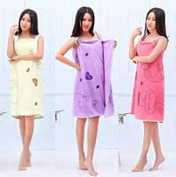 Полотенце-халат для сауны оптом