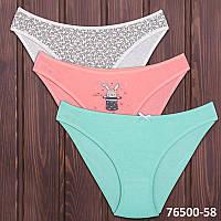 Набор детских трусиков мини-бикини для девочки Domi Турция 76500-58 | 3 шт.
