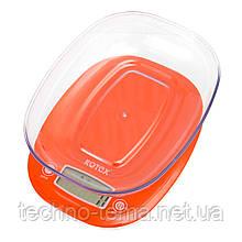 Весы кухонные с чашей электронные ROTEX RSK19-P