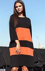 Шикарное демисезонное платье черного цвета размеры: 48-50, 52-54, фото 3