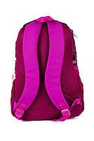 Рюкзак школьный Monster High 1865 розовый Турция, фото 3