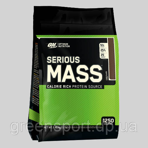 Гейнер Optimum Serious Mass (5,44 кг) Шоколад