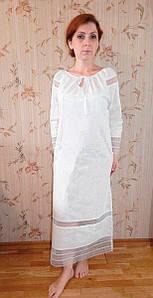 """Крестильная рубашка для взрослых. Модель """"Gloria"""" (""""Глория"""")"""