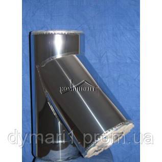 Тройник термо 45 для саун Ф100/200 к/к