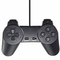 Игровой джойстик для компьютера SQONYY Game Pad Shocks Joystick, USB геймпад, с доставкой по Украине