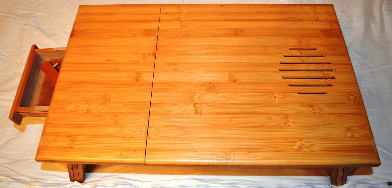 Столик - подставка для ноутбука бамбук