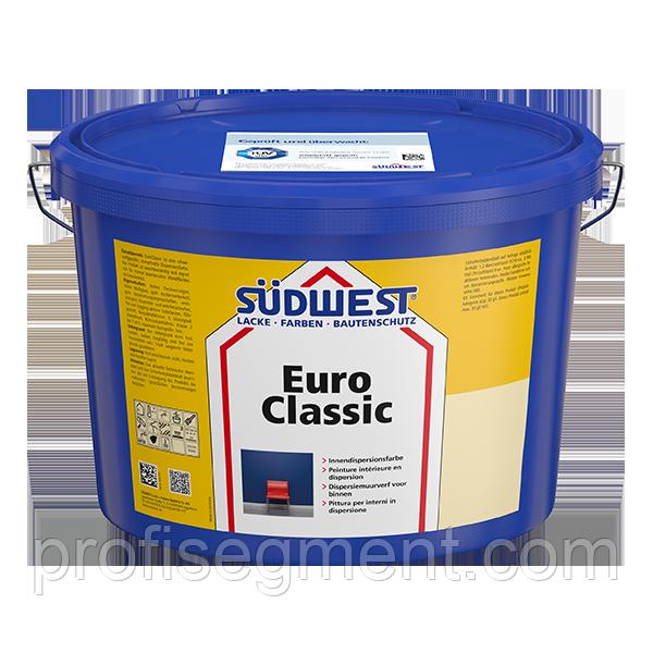 Интерьерная дисперсионная краска SUDWEST EuroClassic 10 L (Зюдвест Евроклассик)