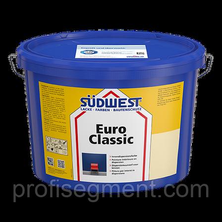 Интерьерная дисперсионная краска SUDWEST EuroClassic 10 L (Зюдвест Евроклассик), фото 2